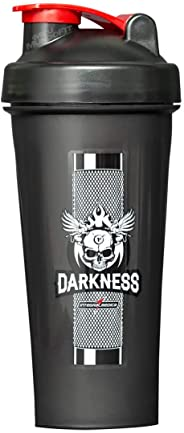 Coqueteleira Darkness Feel The Grip (600ml) Integralmédica