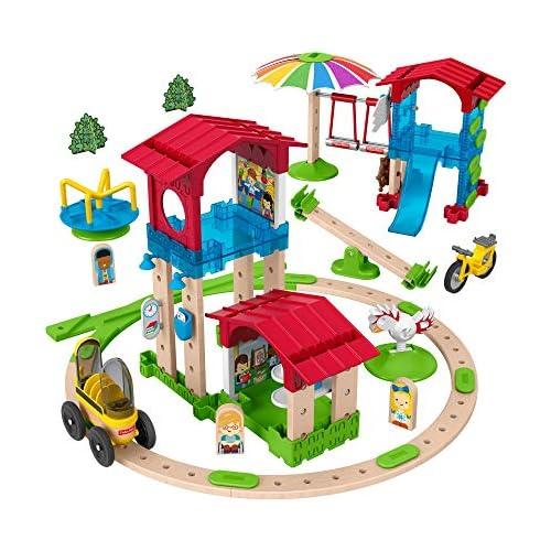 chollos oferta descuentos barato Fisher Price Wonder Makers Mini escuela juguetes construcción niños 3 años Mattel GFP82