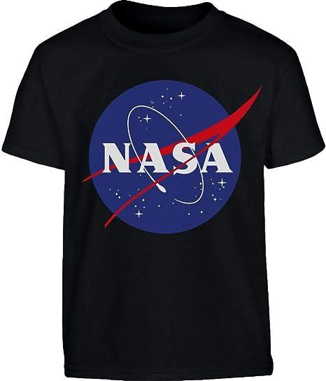 NASA Logo Galaxy Streetwear Outfit Maglietta per Bambini e Ragazzi