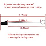 Cam Phaser Locking Tool and Timing Chain Locking