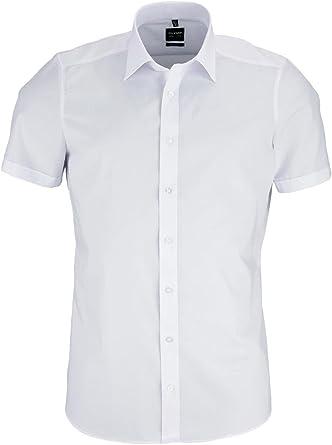 Olymp Level Five Body Fit - Camisa de manga corta para caballero: Amazon.es: Ropa y accesorios