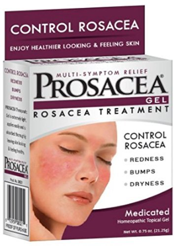 PROSACEA Rosacea Treatment Homeopathic Topical Gel, .75 oz by Prosacea