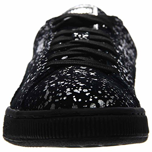 Puma Suede Splatter Metallic Men US 11.5 Black Sneakers discount with credit card V1BF5YcSqj