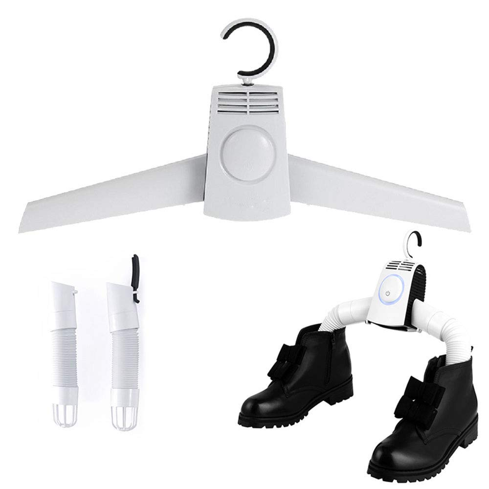 Hanger Dryer Portable Electric Clothes Shoes Hot /& Cool Cold Air Drying Machine