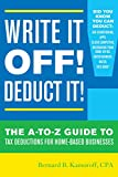 Write It Off! Deduct It!, Bernard B. Kamoroff, 1630760692