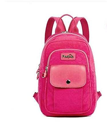 Amazon.com | Canvas Mini Backpack Women NEW Casual Printing Backpack Mochilas Waterproof 5 Color Floral Backpacks Bags For Women 1122 | Casual Daypacks