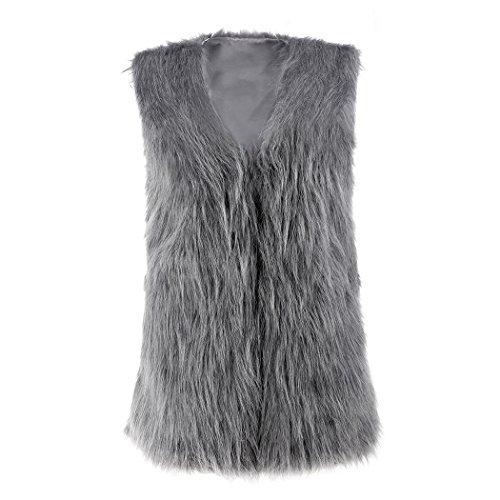 Fanala Luxury Womens Sleeveless Waistcoat