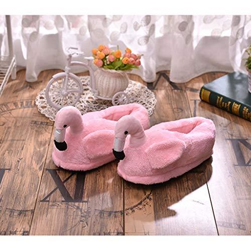 Adulti Accessorio Scarpe Fityle Camera Paio Pantofole 2 Casa F Peluche Chiuse Leggero Inverno Per z7YqwY