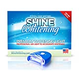 Shine Whitening - Blue Teeth Whitening Light - Accelerates Whitening Gel, Whiten Teeth Faster