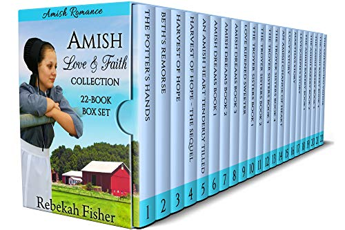 This  twenty-two-book box set of sweet, clean Amish romance stories contains some of the most popular and favorite books by readers of Rebekah Fisher! It includes several series as well as several popular stand-alone books, you're sure to enjoy! You'...