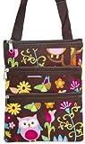 Colorful Owl Small Hipster Cross Body Shoulder Bag Purse Handbag, Bags Central