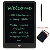 Electronic LCD Writing Tablet 10-inch Portable Writing Board Can Be Used As Drawing Board Bulletin Board Family Note Daily Planner Learning Tools Gift For Kids Student Office Worker, Black