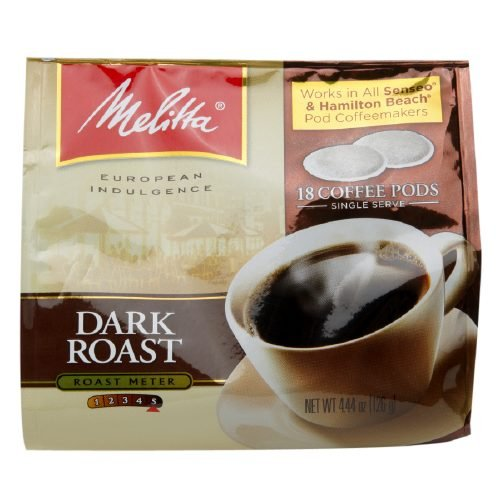 0.25 Ounce Pods (Melitta Dark Roast Soft Pod Pack 0.25 oz (Pack of 1))