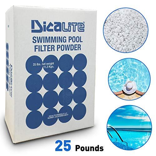 Dicalite Minerals DE25BOX Diatomaceous Earth Pool Filter D.E. 25 LBS
