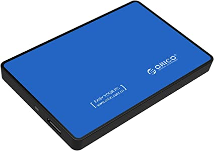 Case ORICO 2.5 Sata 3.0 to USB3.0 Tool Free External Hard Drive Enclosure