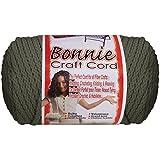 Bonnie Macrame Craft Cord 6mmX100yd-Smoke Gray