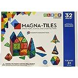 Magna-Tiles 32-Piece Clear Colors Set – The...