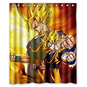 Dragon Ball Z Goku easiskins cortina de ducha cortinas de