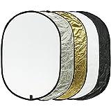 "Etekcity 24"" X 36"" (60cm x 90cm) 5-in-1 Portable Multi-Disc Photography Photo Reflector"