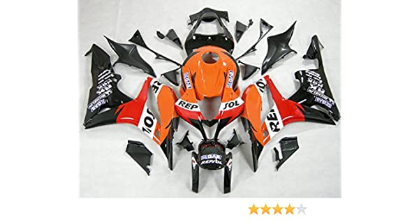 Amazoncom Moto Onfire Abs Injection Fairings Kit Fit For 2007 2008