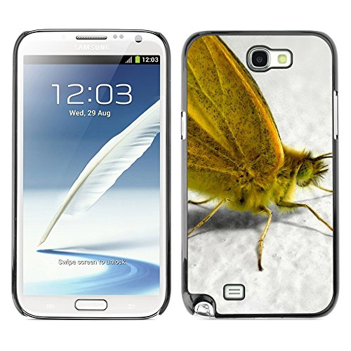 Soft Silicone Rubber Case Hard Cover Protective Accessory Compatible with SAMSUNG GALAXY NOTE 2 & N7100 - Plant Nature Forrest Flower 55