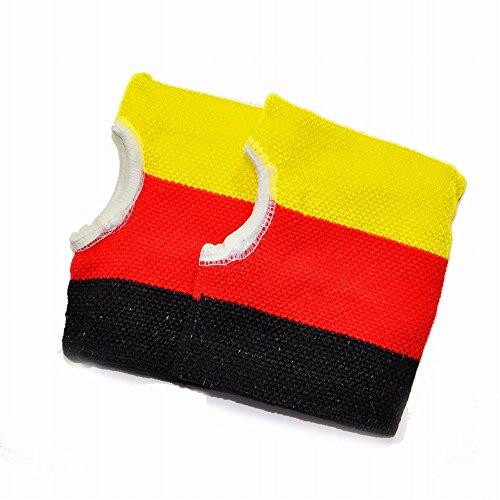 (ピッコロボンネット) PiccoloBonnet 国旗柄ハンドウォーマー ドイツ HW-1410