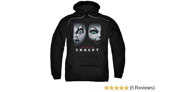 Child/'s Play Bride of Chucky HAPPY COUPLE Licensed Adult Sweatshirt Hoodie