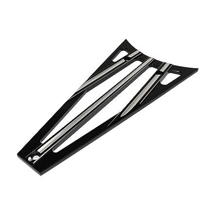 Black Billet Cut Frame Grill For Harley Touring Electra Street Glide 2009-2013