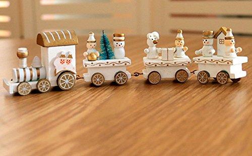 Decoraciones Navideñas Bosque de Navidad Tren Pequeño Niños Jardín de Infancia Festivo Regalos de Navidad Adornos de...