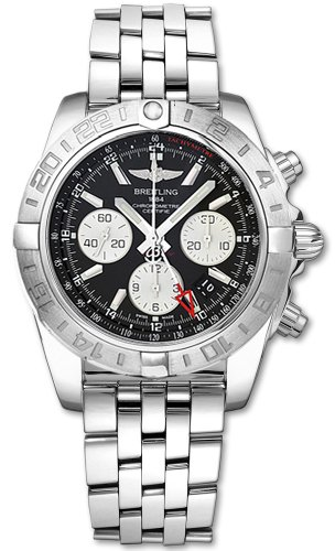 Breitling Windrider Chronomat GMT Mens Watch AB042011/Bb56