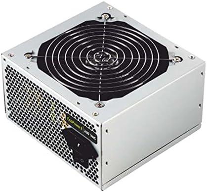 TooQ TQEP-500SP - Fuente de Alimentacion Ecopower II de 500W con PFC Pasivo, Ventilador silencioso de 120mm con control automatico de velocidad: Tooq: Amazon.es: Informática