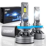 Fahren H11/H9/H8 Bulbs, 60W 10000 Lumens Super Bright LED Waterproof Headlights Conversion Kit 6500K Cool White IP68: more info