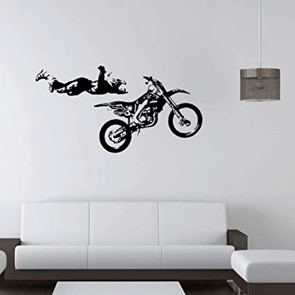 Olydmsky Adesivi Muro Frasimoto Stunt Volo Prestazioni Creative