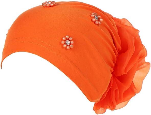 Turban Hair Women Head Band Yoga Chemo Wrap Stretch Pleated Twist Bandana Cover