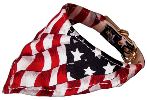 America the Beautiful Bandana Collars Patriotic 18