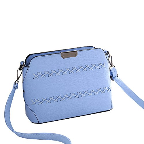 Qearly, Borsa a spalla donna Blu blu