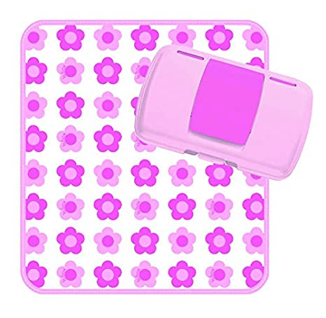 b.box Diaper Wallet | With Car Pattern Easy-to-Clean Changing Mat | Holds 2 Disposable Diapers Or a Change of Clothes | BPA-Free | Phthalates & PVC Free 9319064004635