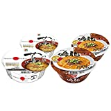 [Value Pack] TSUTA & NAKIRYU Japanese Famous Ramen shop's Instant Noodle 2by2 Trial Set 蔦 & 鳴龍