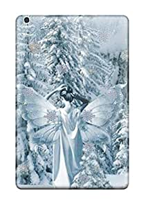 Keyi chrissy Rice's Shop 1515329I87417758 durable Protection Case Cover For Ipad Mini(snow White Fairy)