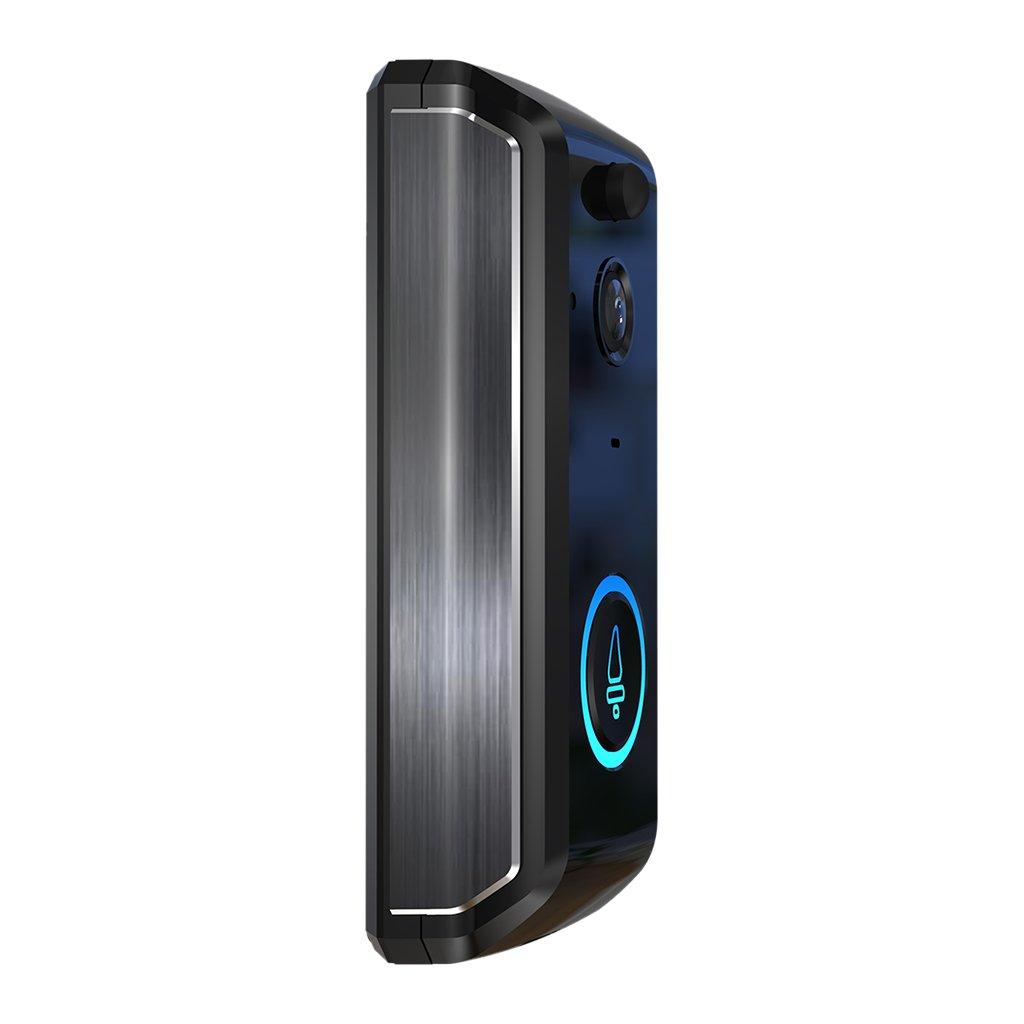 Baoblaze Wireless Camera Doorbell 1280P Video Sound Intercom WiFi Remote Security IR LED Bell