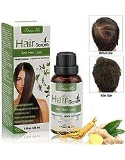 Hair Growth Serum, Hair Serum, Anti Hair Loss, Natural Herbal essence Anti Hair Loss Hair Serum, For Thinning Hair, Thickening & Regrowth Product, Fast Hair Growth Serum Support For Men & Women (30ml)
