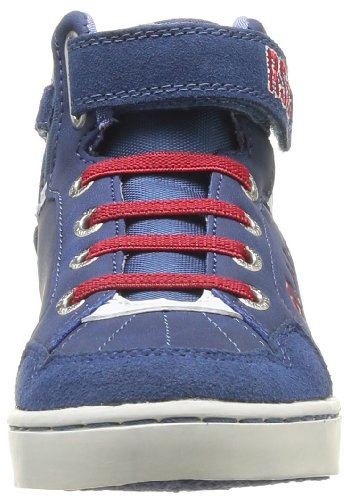Clearblue Zigzag Kid - Zapatillas Unisex adulto Azul (Blau - Bleu (Bleu/Blanc/Rouge))