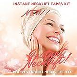 NEW INSTANT NECKLIFT - NECK LIFT KIT TAPES ANTI AGEING STRIPS (Light Hair)