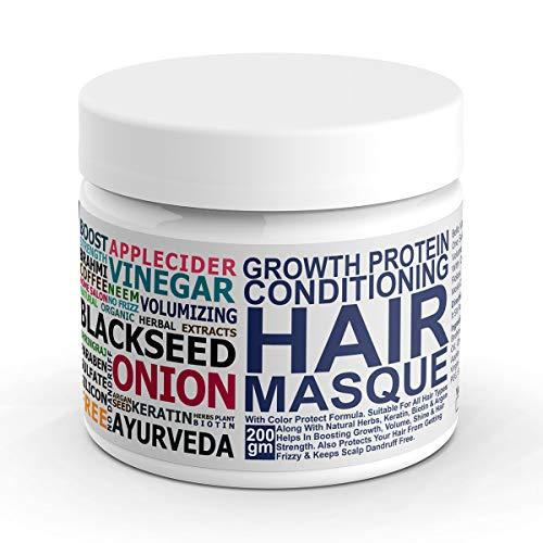 Bella Vita Organic Volume Protein Hair Spa Mask For Hairfall Control, Frizzy Hair Cream, Color Damaged Hair Repair…