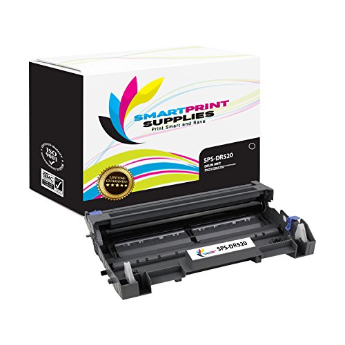 Smart Print Supplies Compatible DR520 DR-520 Drum Unit Replacement for Brother HL-5240 5250DN 5250DNT 5280DW, MFC-8460N 8660DN 8860DN 8870DW, DCP-8060 8065DN Printers (25,000 Pages)
