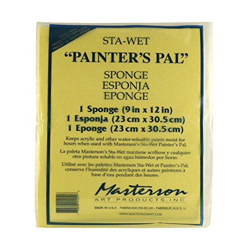 inter's Pal Sponge Refill, 12 X 13 inches, Package of 1 (912.51) (Wet Palette Refill)