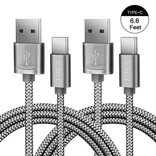 JS Nylon Braided USB C 6 6 Feet