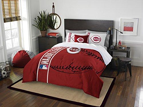 Cincinnati Reds Bedding (The Northwest Co mpany MLB Cincinnati Reds 3-piece Comforter Set)