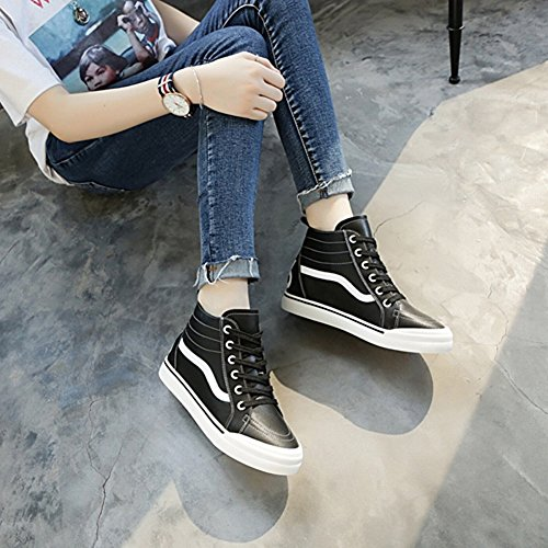 white Shoes Shoes Shoes Shoes EUR37 's Shoes High Shoes Flat All Sports Match Single Women Shoes Shoes Zg0Ox0q