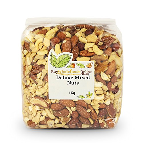 Buy Whole Foods Mixed Nuts Deluxe without Peanuts 1 Kg